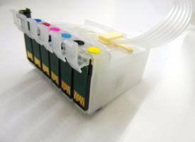 СНПЧ ( Система непрерывной подачи чернил ) Epson Photo R290 / T50 / TX650