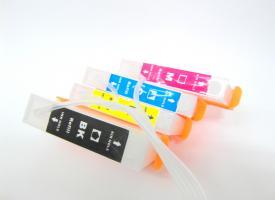 ( Система непрерывной подачи чернил ) HP 655 x 4 с чипами