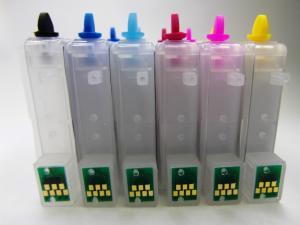 Перезаправляемые картриджи (ПЗК) Epson R200 / R220 / R300