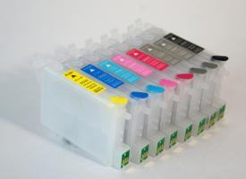 Перезаправляемые картриджи (ПЗК) Epson R2400