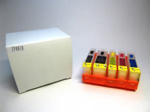 Перезаправляемый картридж (ПЗК) Canon Canon PIXMA ip4850/ MG5150/ MG5250/ MG6150/ MG8150 с чипом