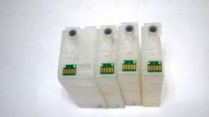 Перезаправляемый картридж (ПЗК) CANON MAXIFY MB2040/ MB2340 (PGI-1400XL BK, C, M, Y), с авточипами