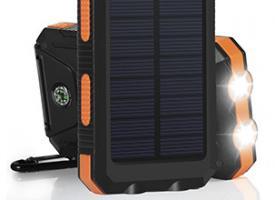 Powerbank от солнечной энергии
