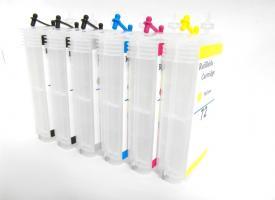 Перезаправляемые картриджи (ПЗК) HP DesignJet  T790/ T770/ T1100 T610 series
