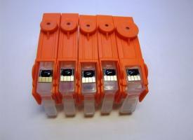 Перезаправляемые картриджи (ПЗК) HP 178 с авточипом