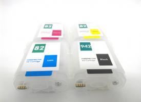 Перезаправляемые картриджи (ПЗК) HP DesignJet 510 с авточипом