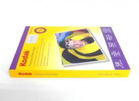 Фотобумага Kodak 230г/м2, 13х18 50 л., глянцевая односторонняя