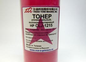Тонер цветной для HP Color LJ-1215 45гр. Magenta