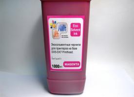 Эко Сольвентные чернила ( Eco solvent ) 1000мл Magenta