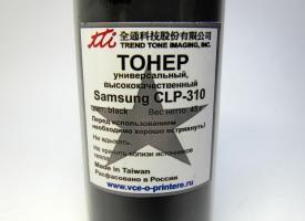 Тонер цветной Samsung CLP-300/ 310, CLX-2160/ 3160 45гр. Black