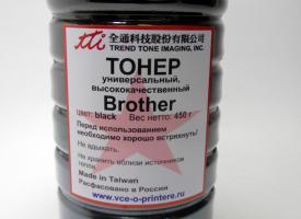Тонер Brother универсальный 450гр