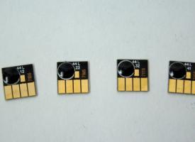 Комплект чипов для картриджа HP711