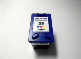 Картридж цветной HP 28