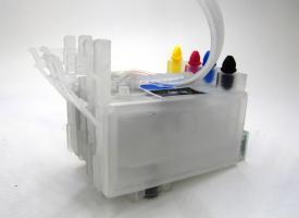 СНПЧ ( Система непрерывной подачи чернил ) Epson С63, C65, CX3500