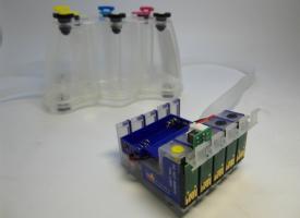 СНПЧ (Система непрерывной подачи чернил) EPSON Stylus BX320FW ( 5 color )