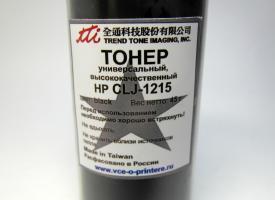 Тонер цветной для HP Color LJ-1215 45гр. Black