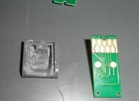 Чип памперса Epson WorkForce Pro WP-4025DW T6710